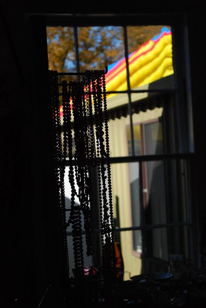 Market Hall Window - Evandale by Jenni Greene