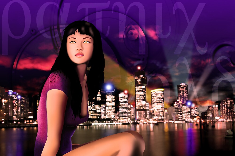 Girl in a crazy world by FF-Side