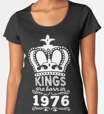 Camiseta premium para mujer Camiseta Birthday Boy - Los reyes nacen en 1976