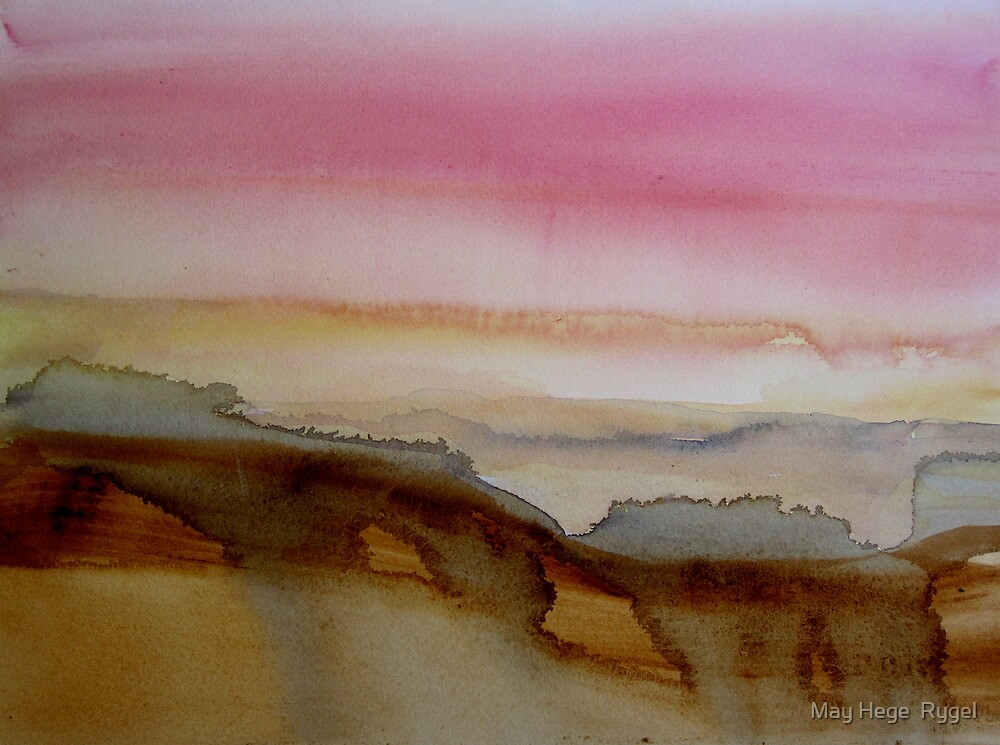 Sunset by May Hege  Rygel