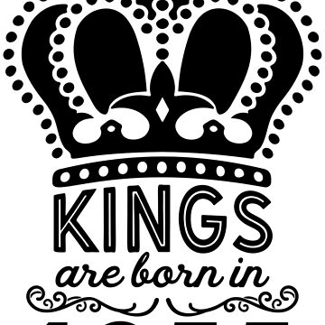 Birthday Boy Shirt - Kings Are Born In 1955 by wantneedlove