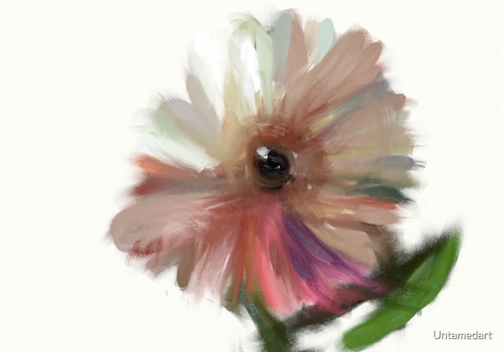 Eye of the flower by Untamedart