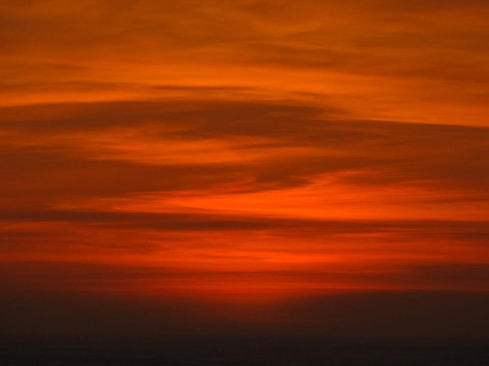 Rodeo Beach Sunset by stevenjay