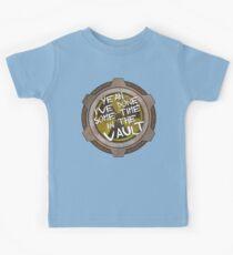 Ja, ich habe einige Zeit in einer nuklearen Fallout Vault gemacht Kinder T-Shirt