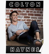COLTON HAYNES Poster Poster