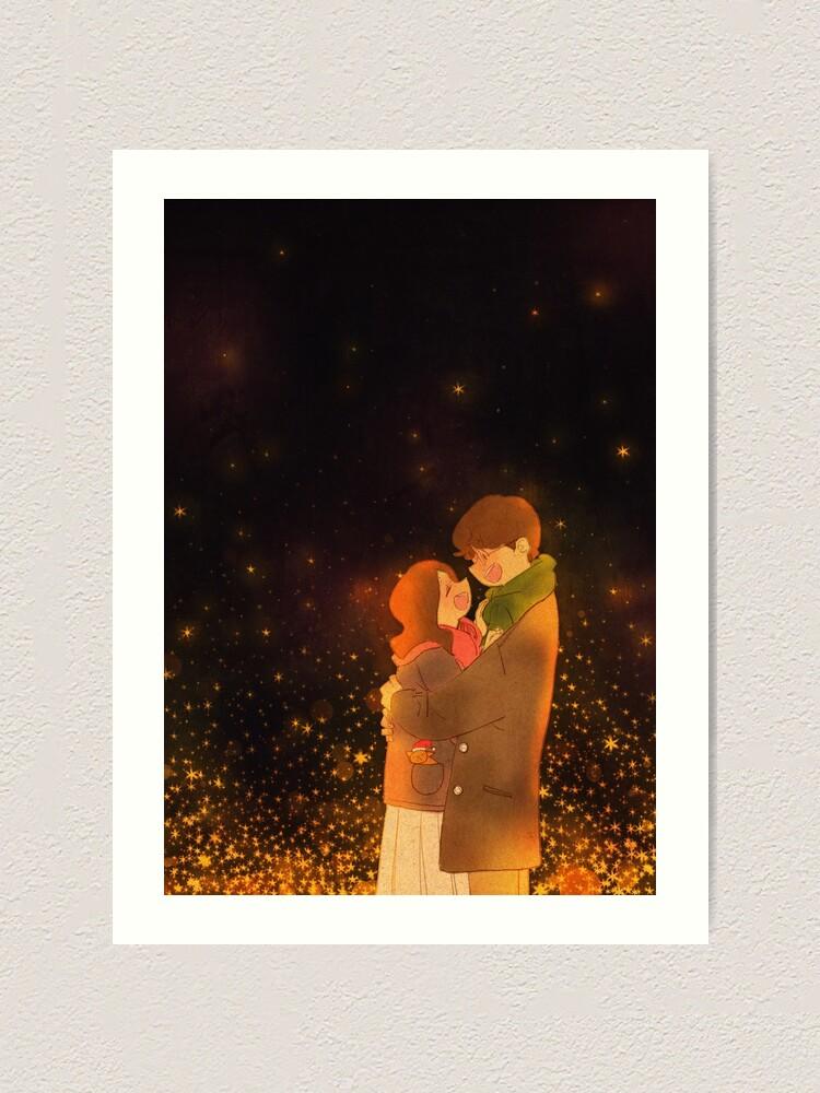 Alternate view of A warm winter night Art Print