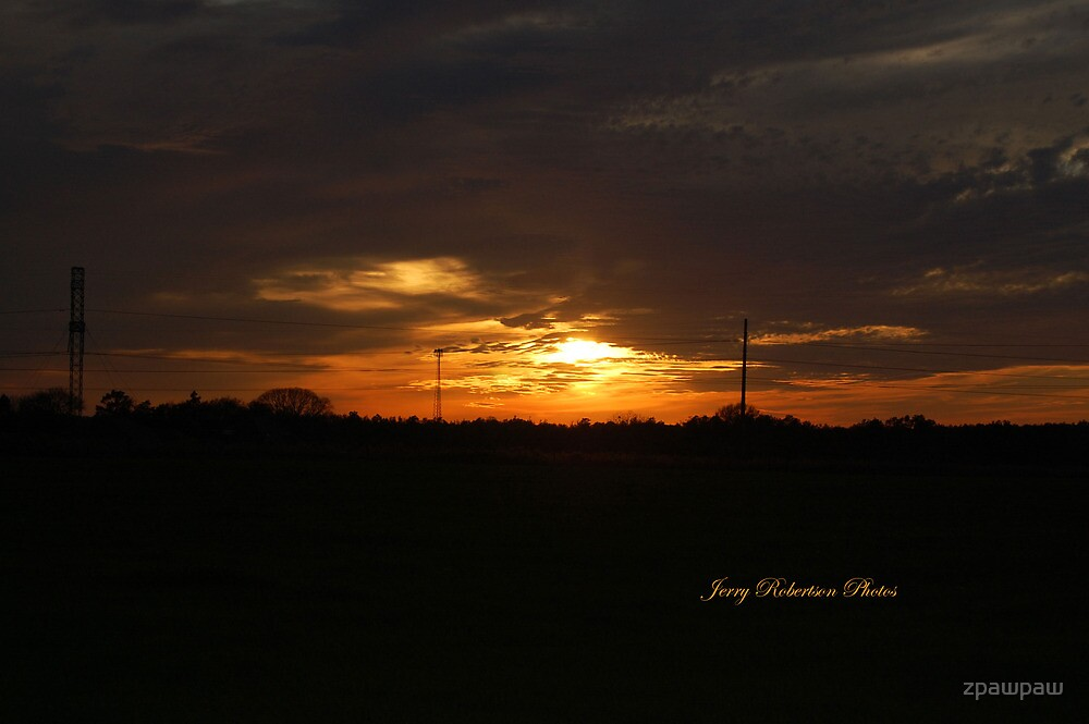 Sunset in Mobile, Al. by zpawpaw