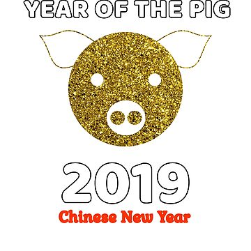 Year of the Pig Chinese New Year 2019 by MMadson