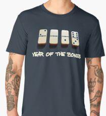 Dominoes Year of the Bones 2019 Men's Premium T-Shirt