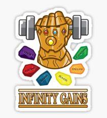 The Infinity Gaintlet Sticker