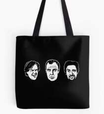 Jeremy Clarkson, Richard Hammond, James May Tote Bag