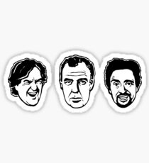 Jeremy Clarkson, Richard Hammond, James May Sticker