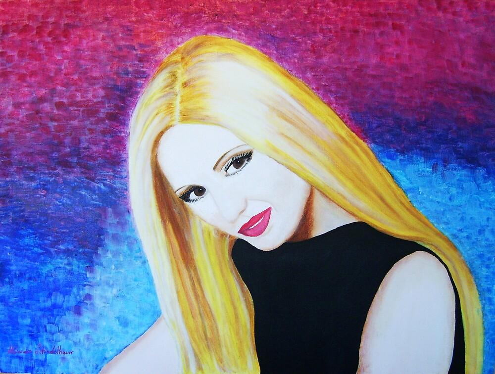 Renee, a portrait by foxy-miranda
