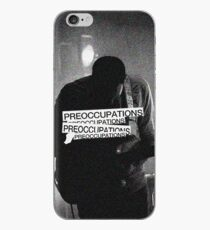 Preoccupations  iPhone Case