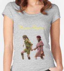 Moonrise Kingdom - Sam und Suzy Tailliertes Rundhals-Shirt