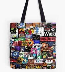 Musical-Collage Tote Bag
