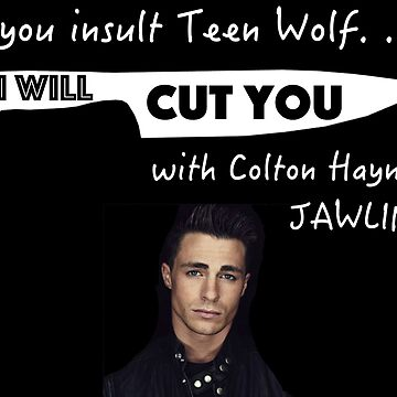 Colton's Jawline Teen Wolf by mustang1