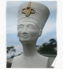 White Memories of Ancient Egypt Poster
