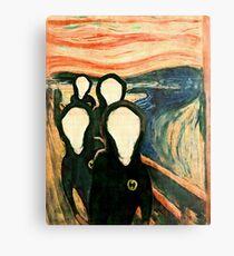 Wu Scream - www.art-customized.com Metal Print