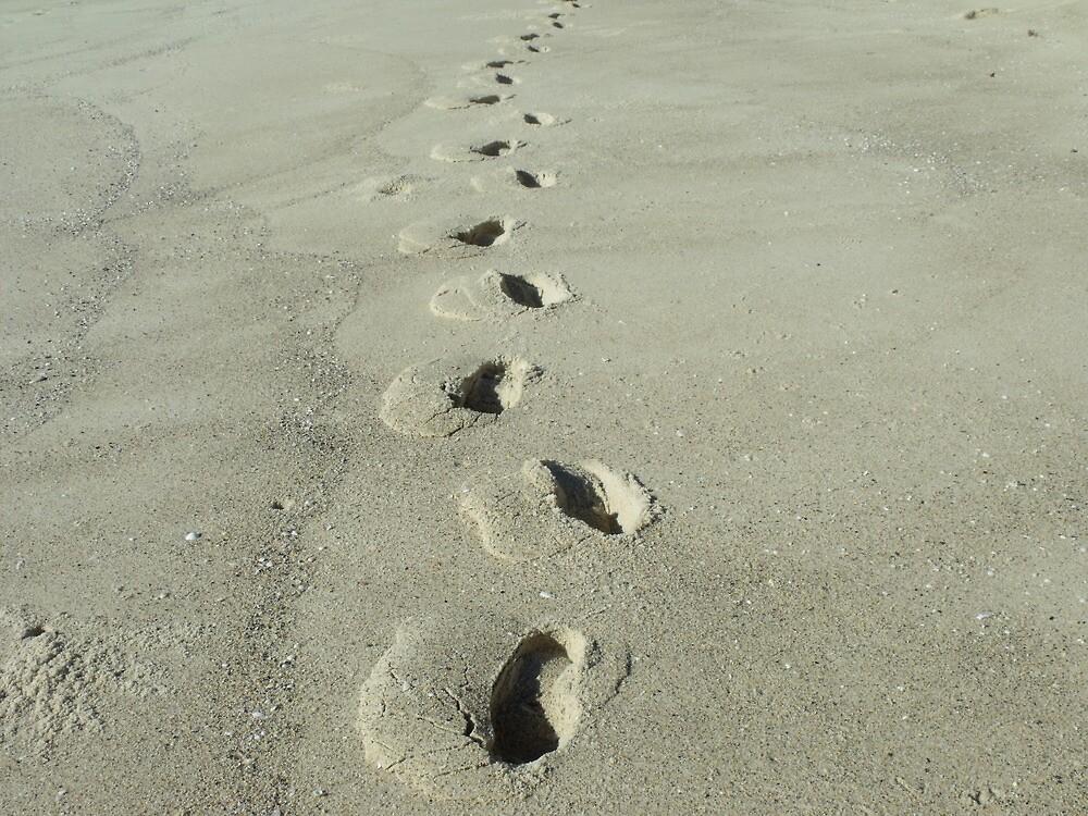 Footprints by Judy Woodman