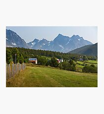 a large Norway landscape Photographic Print