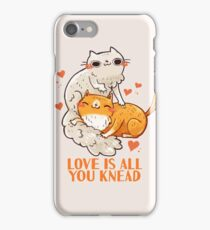 Cute Cats - Love is all you knead  iPhone 7 Case