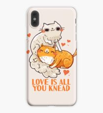 Cute Cats - Love is all you knead  iPhone XS Max Case