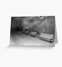 Crepuscular Seating Greeting Card