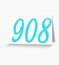 908 Greeting Card