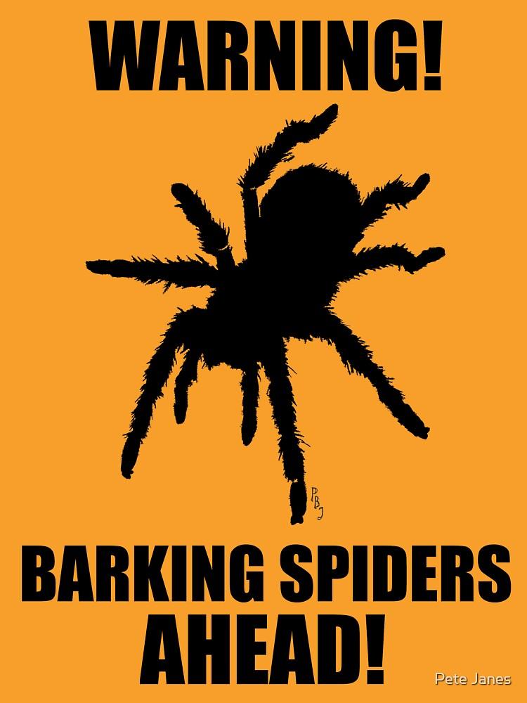 Warning Barking Spiders by Spidersknee