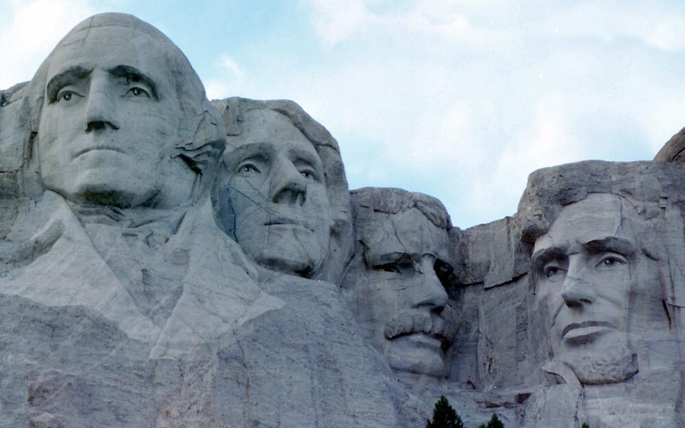 Mt Rushmore by rlh1973