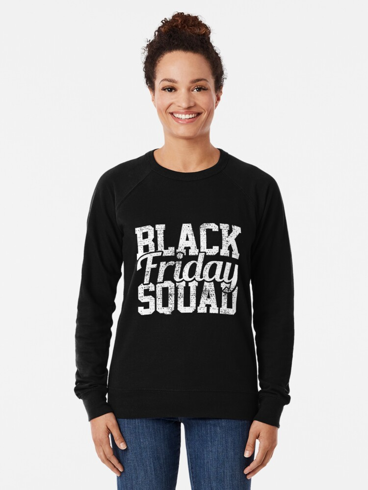 Alternative Ansicht von Black Friday Squad Leichter Pullover