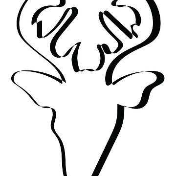 Stylish REINDEER FACE by collection-life