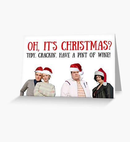 Gavin y Stacey, Navidad, Citas, Regalos, Regalos, Paquetes de pegatinas, Tazas frescas, Buenas vibraciones, Humor, Juegos de palabras, Banter Tarjeta de felicitación