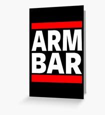 Jiu Jitsu - Arm Bar Greeting Card