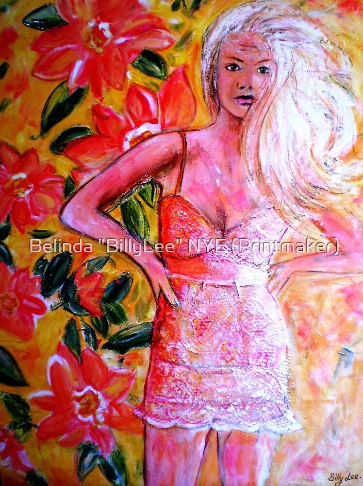 """THAT GIRL THAT DRESS"" by Belinda ""BillyLee"" NYE (Printmaker)"