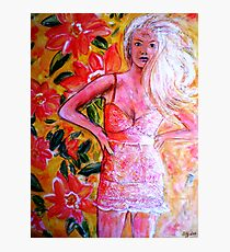 """""""THAT GIRL THAT DRESS"""" Photographic Print"""