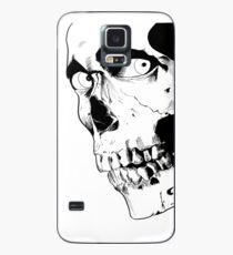 Funda/vinilo para Samsung Galaxy Cráneo malvado muerto