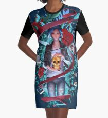Trapped by Destiny Graphic T-Shirt Dress