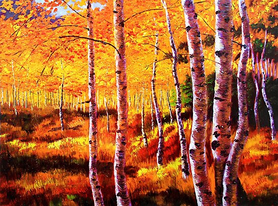 View in the Aspens by sesillie