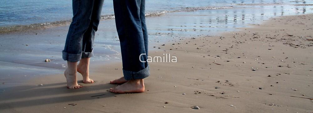 Beach Love II by Camilla