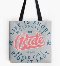 Motorcycle Speed Cult Tote Bag