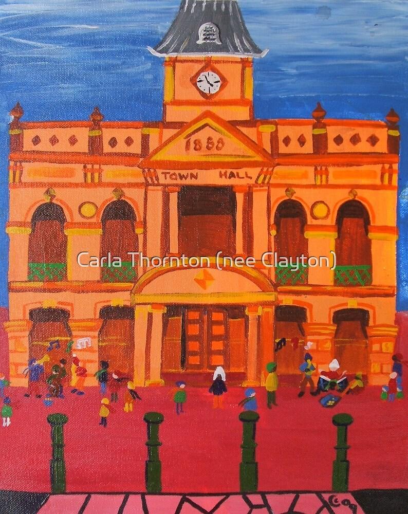 Warwick Town Hall by Carla Thornton (nee Clayton)