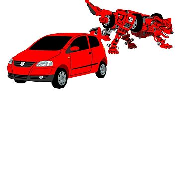 [Upon Request] Volkswagen Fox Transformer Red  by MrTWilson