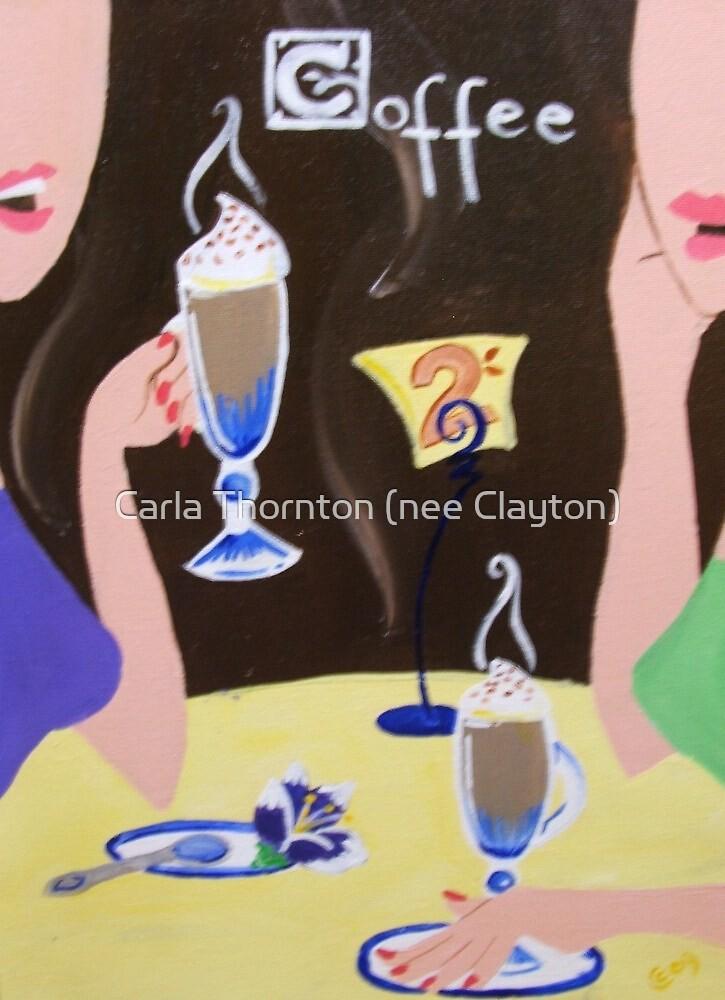 Casual Coffee by Carla Thornton (nee Clayton)