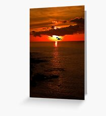 Lizard Point Sunrise  Greeting Card