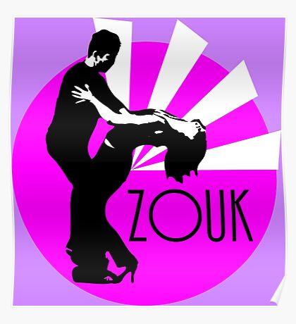 lets dance brasilian zouk Poster