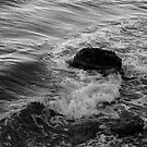 The swirling sea - nature in black and white by Agnes McGuinness