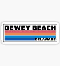 Dewey Beach Delaware Sticker