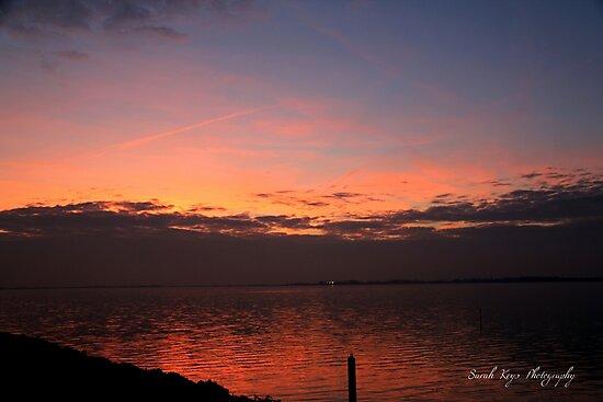 Sunset on the Island of Marken, Netherlands by Sarah Keys